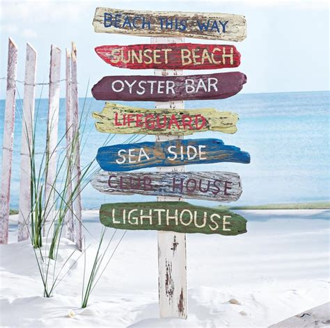 beach signs home decor outdoor decor beach home decoration club