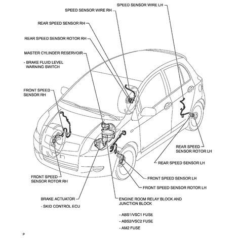 toyota yaris vios echo car sensors location mechanic handbook
