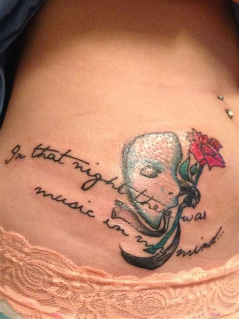 tattoo addiction my phantom of the opera bada stuff