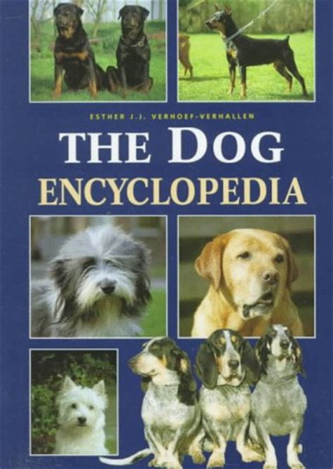 picture books about dogs the encyclopedia by esther j j verhoef verhallen