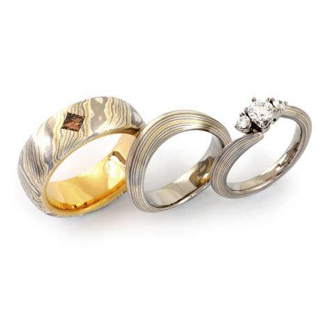 Verlobungsring Mit Ehering by Goldschmiede Mojo Design Verlobungsring Mit Eheringen