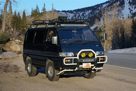mitsubishi planet the mitsubishi delica l300 now invading from planet japan