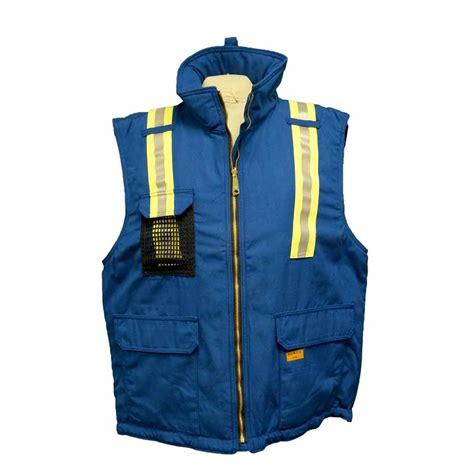 winter vest insulated nomex fr 8812 hi viz winter vest direct workwear