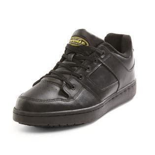 safetrax shoes safetrax s non skid black leather skate shoe black
