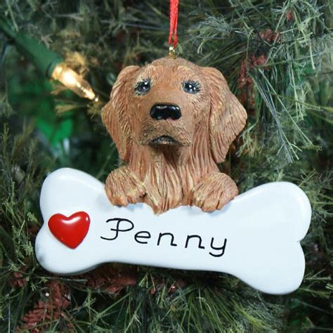 personalized golden retriever gifts personalized golden retriever ornament giftsforyounow