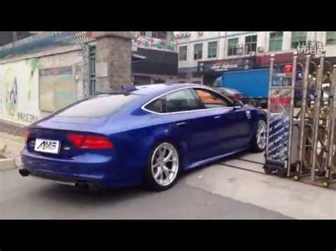 Audi A7 Performance Upgrades by Audi A7 3 0t Sportback W Armytrix Cat Back Performance