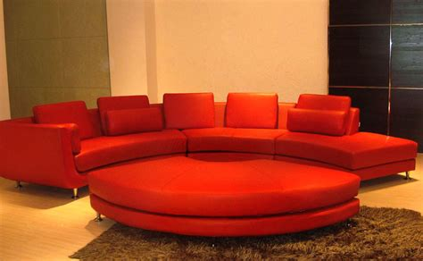 Contemporary Curved Sectional Sofa Contemporary Velour Fabric Curved Leather Sectional Sofa Ultra Modern Style Ebay