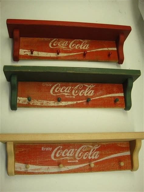 coca cola home decor cocacola original country wall shelf 1970 by subman on