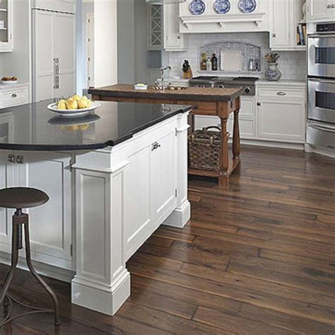 types of kitchens kitchen flooring types wood floors