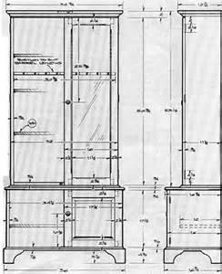 Choice Cabinets Wooden Gun Cabinet Plan Model 1991