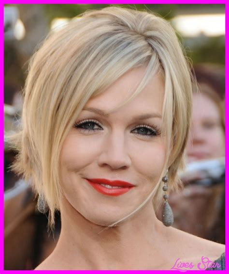 short cuts for thin faces short haircut for fine hair round face livesstar com