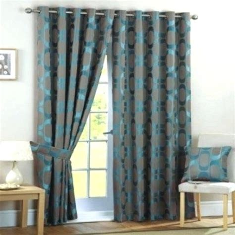 Turquoise And Grey Curtains Turquoise Curtains Enzobrera