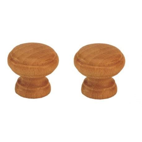 pomelli di legno pomelli in legno faggio finitura noce brico casa
