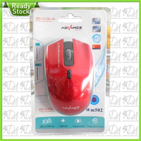 Mouse Wirless Advance Wm5xx jual beli mouse wireless advance wm502 baru jual beli