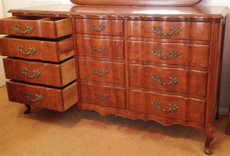 vintage 12 drawer dresser provincial dresser