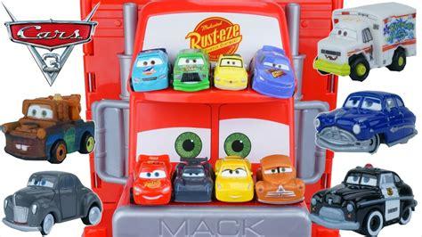 Cars Mini Racers Smokey disney cars 3 tiny mini racers mack hauler jackson lightning smokey dr