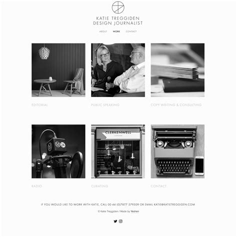 Yeshen Venema Squarespace Specialists Impact Squarespace Template