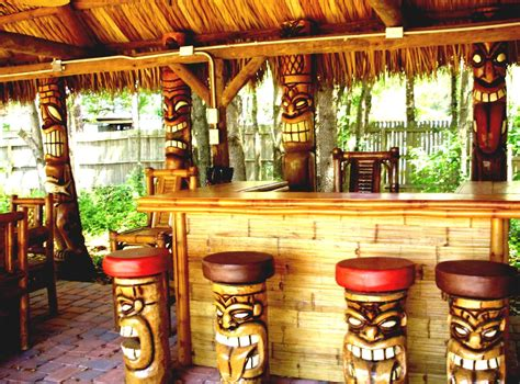tiki bar top ideas dream home outdoor tiki bar ideas best home design ideas