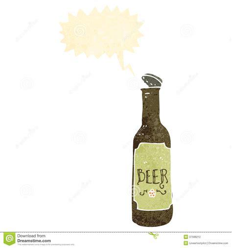 beer bottle cartoon retro cartoon beer bottle stock photography image 37588212