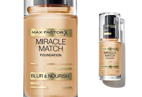 Foundation Max Factor max factor miracle match foundation fall 2015