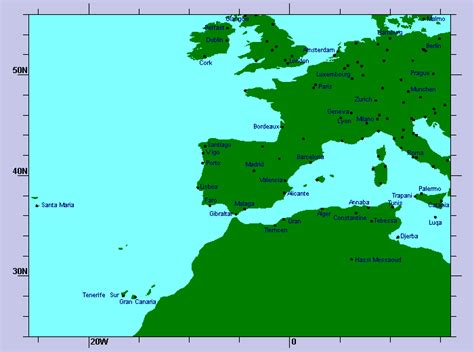 w x maps africa weather at airports europe and nothern africa