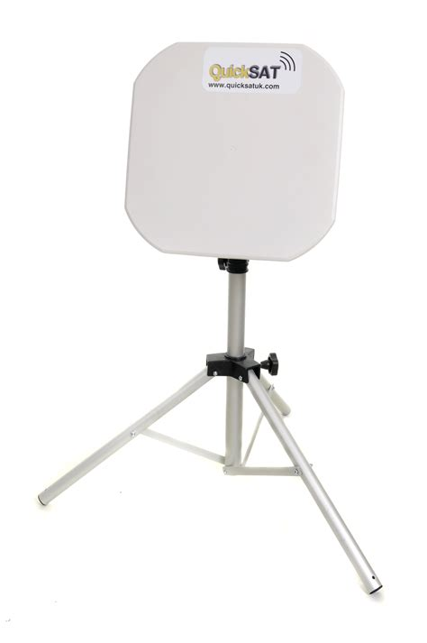 quicksat qs65 portable satellite tv system for motorhomes