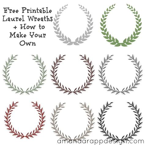laurel leaf crown template 17 best ideas about olive wreath on winter