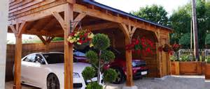 timber carports oak carports post beam car port kits