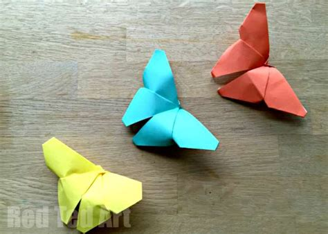 Easy Origami Butterfly - 20 and easy origami for easy peasy and