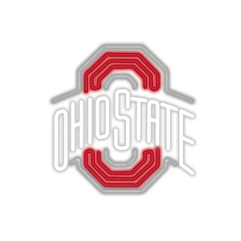 ohio state neon light officially collegiate licensed neon light ohio state