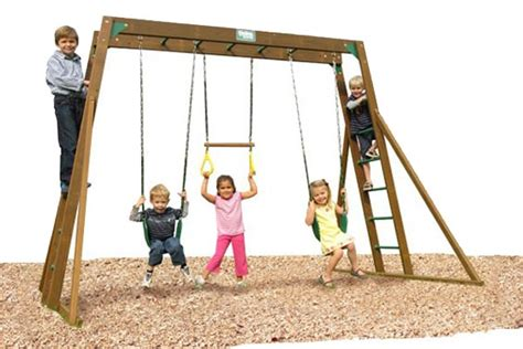 classic top ladder playtime swing sets