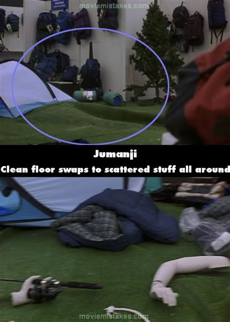 jumanji movie mistakes jumanji movie mistake picture 10