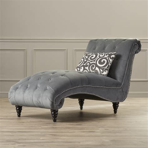 Chaise A Housser by House Of Hton Kirkby Chaise Lounge Reviews Wayfair
