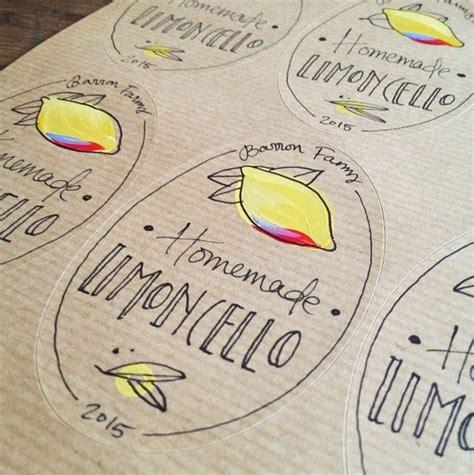 Personalisierte Aufkleber Marmelade by 10 Limoncello Etiketten Personalisiert Ovale Etiketten