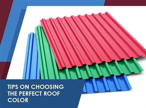 Roof Care 4 Tips To Tips On Choosing The Roof Color