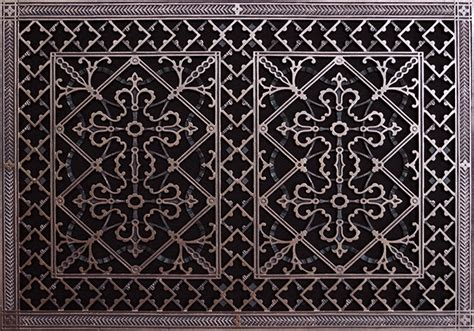 decorative return air grille arts and crafts style decorative return air filter grille
