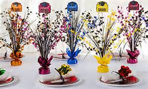 70th Birthday Party Centerpieces by Graduation Decorations Graduation Centerpieces