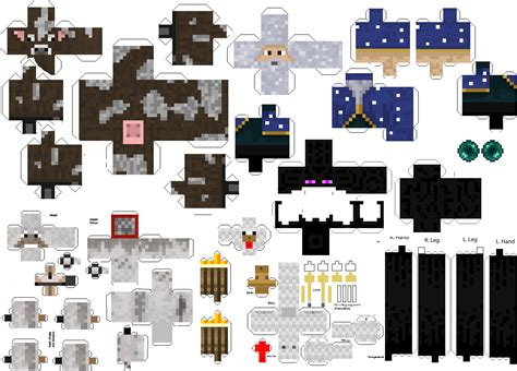 paper mine craft minecraft paper craft paper crafts