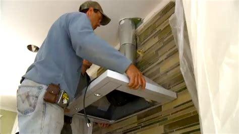 Chimney Installation In Kitchen by Range Diy Install