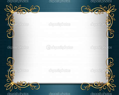 8 best images of elegant blue certificate border blue