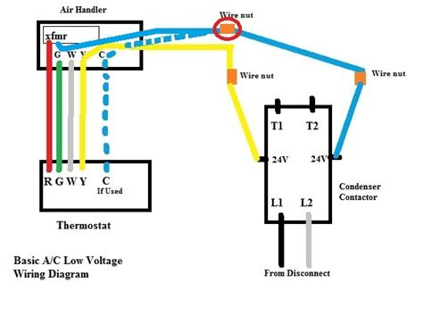hvac low voltage wiring diagrams air conditioner dual