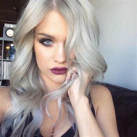 gray hair color trend 2015 the grey hair trend is huge for spring summer 2015 blonde