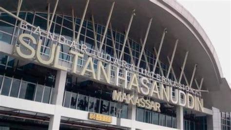 Penerbangan Bandar Udara penerbangan di bandara sultan hasanuddin makassar terganggu