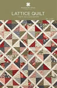 digital lattice quilt pattern from missouri