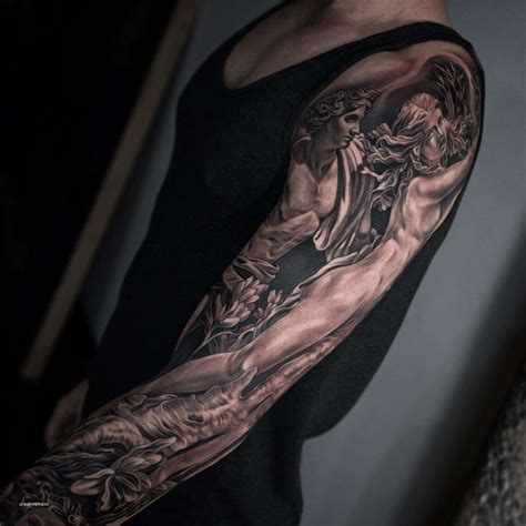 top arm tattoo designs cool sleeve ideas awesome 100 arm sleeve