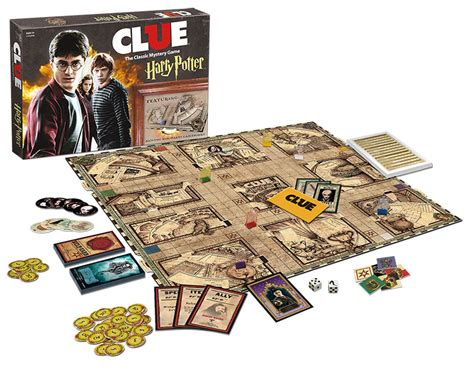 Deck Boxes Canada by Clue Harry Potter Clue Usaopoly