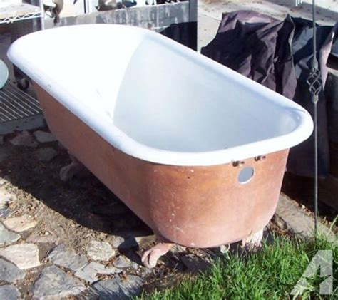 vintage bathtubs for sale vintage lions claw foot cast iron tub for sale in lovelock
