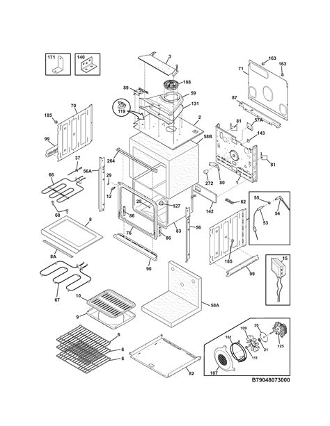 Kenmore Elite 79048079000 electric wall oven parts | Sears