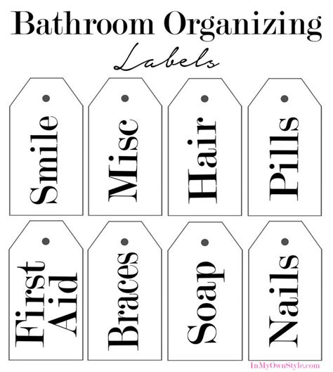 printable labels home organization how to organize in style using dollar store baskets the