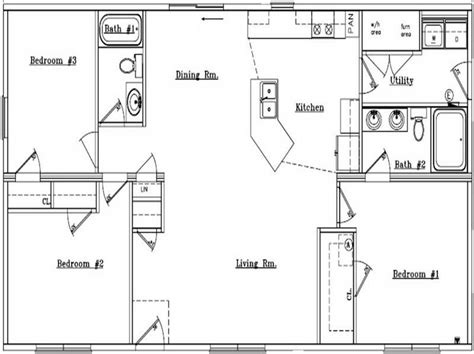 popular ranch floor plans miscellaneous ranch home floor plans popular floor